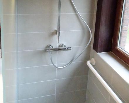 Bad vervangen door douche zonder drempels